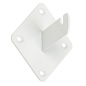 "White Gridwall Bracket, 3.875"" in Depth"