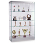 Contemporary Glass Display Cabinets with Removable Shelves