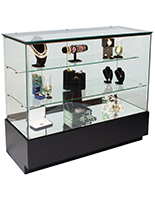 Glass Jewelry Showcase