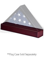 flag case pedestal