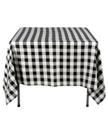 Black & White Tablecloths