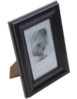 "Black 4""x6"" Picture Frame"