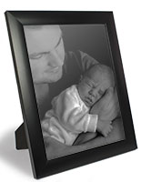 Plastic Picture Frame for Tabletop or Wall Mount