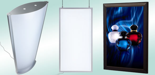 snap frame light boxes
