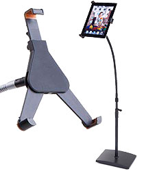 floor standing ipad holders