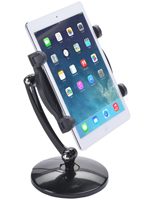 Plastic and Aluminum iPad Arm Clamp
