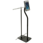 Steel iPad Stand with Banner