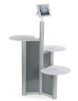 Floor Standing iPad Retail Display Stand