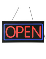 Square Open LED Sign