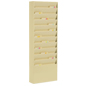 Wall File Holders - Tan Finish