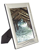 "Silver Photo Frame for 8"" x 10"" Prints"