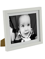 "8"" x 10"" Matted Wood Picture Frames for Table or Wall"