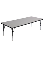 Rectangular Kids Play Table