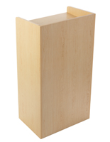 Hostess Podiums & Valet Stands | Wood, Metal & Acrylic Stations