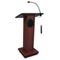 Simple Podium with Wireless Microphone, 150 Watt Amplifier