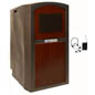 Mahogany Lectern with Sound System