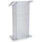 Presentation Frosted Plexiglass Pulpit