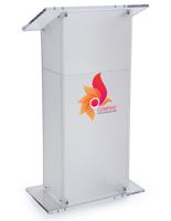Branded Lectern Podium for Conference Halls
