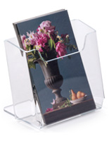 Clear Tabletop Brochure Holders