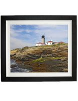 "36"" x 24"" Lighthouse Print, Liquid Laminate"