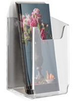 Single Pocket Wall Mounting Brochure Holder