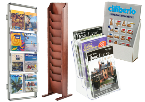 Brochure Holders | Literature Racks & Flyer Stands