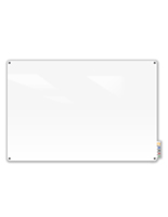 Magnetic Glass Dry-Erase Board - Wall Mounting