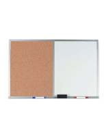 Dry Erase Boards with Corkboard