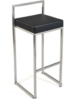 Cheap Uptown Club Damon Leatherette Bar Stool   formal