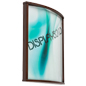 Unique Curved Wooden Poster Frame