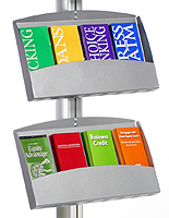 metal brochure holder