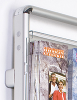 metal brochure dispenser