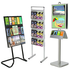 Metal Brochure Holders | Flyer Stands & Wall Pamphlet Racks