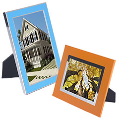 metal colored picture frames