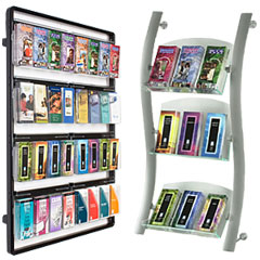 Metal Wall Mount Brochure Racks
