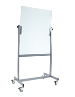 Double Sided Mobile Glass Whiteboard