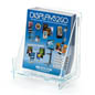 Transparent Knock Down Magazine Holder