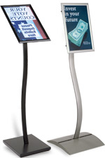 Menu Stands: with Rotating & Tilting Frames