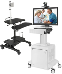 mobile computer carts - medical carts
