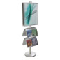 22x28 4 Pocket Poster Stand for Increased Brand Awareness