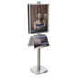 22x28 Metal Poster Literature Stand for Entrance Ways