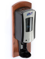 Cherry Purell Wall Dispenser, Real Wood