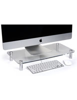 Modern Clear Monitor Stand