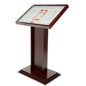 Mahogany Lockable Menu Stand