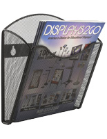 Mesh Brochure Holder for Wall & Promotional Magazines