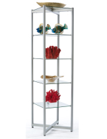 Tempered Glass Tower Shelves