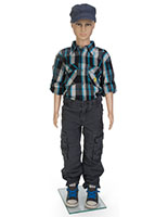 Realistic Child Mannequin for Retail Locations