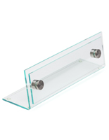 Acrylic Desk Name Plate Holder
