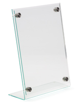 Clear Professional Acrylic Sign Holder