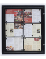 Restaurant Menu Case
